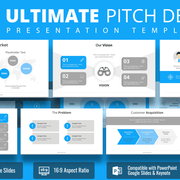 #3 Ultimate Pitch Deck PowerPoint Template - SlideModel