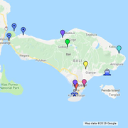 Bali Map - Google My Maps